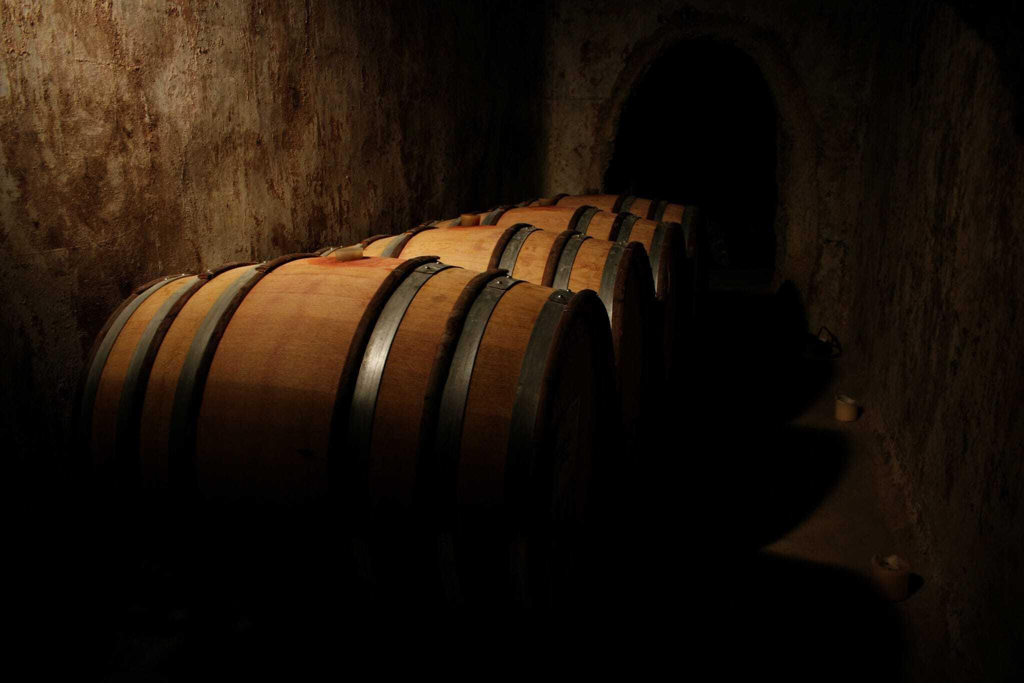 aging barrels mead